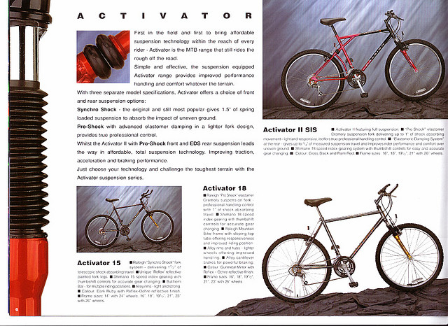 The Raleigh Activator 2: truly an abomination